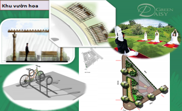 Tiện ích sống cao cấp tại dự án liền kề the green daisy